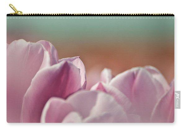 Purple Tulip Landscape Carry-all Pouch