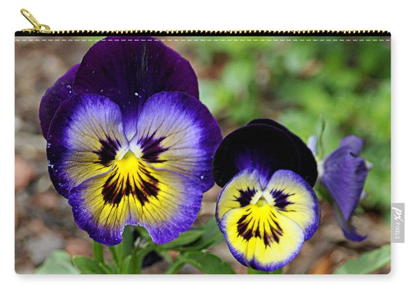 Put On A Happy Face Carry-all Pouch