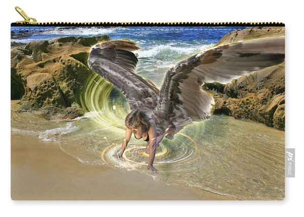 Put Your Trust In Him Carry-all Pouch