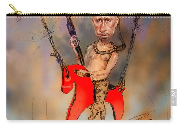 Putin In A Suicidal Game  Carry-all Pouch