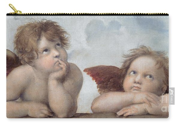 Putti Detail From The Sistine Madonna Carry-all Pouch
