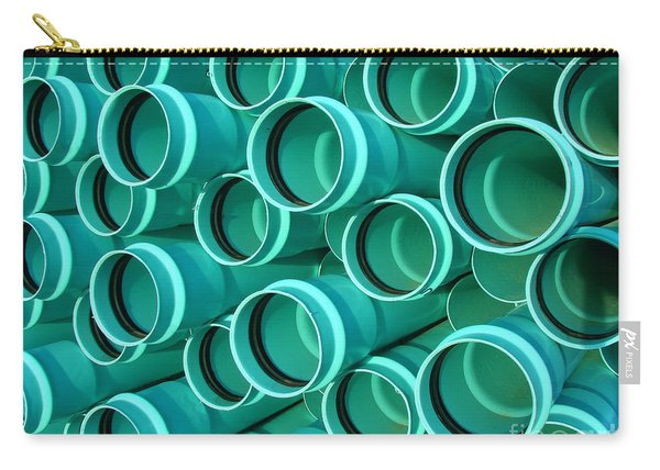 Pvc Pipes Carry-all Pouch