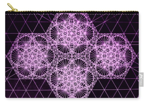 Quantum Snowfall Carry-all Pouch
