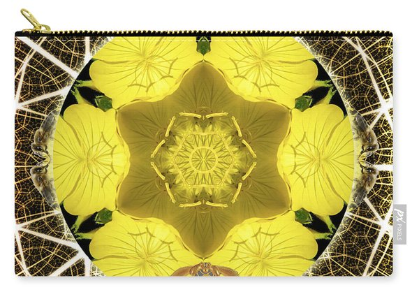 Queen Bee-nectar Of Life Carry-all Pouch