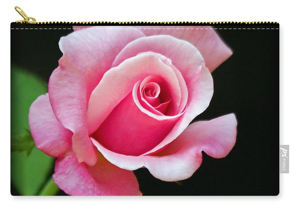 Queen Elizabeth Rose Carry-all Pouch