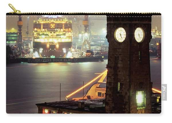 Queen Mary 2 Dry-docked For Maintenance Carry-all Pouch