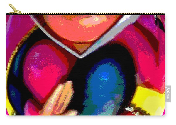 Queen Of Hearts - Fat Albert Style Carry-all Pouch