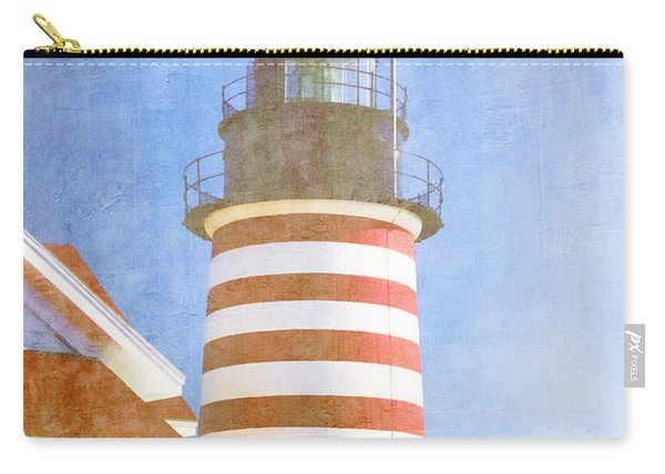 Quoddy Lighthouse Lubec Maine Carry-all Pouch
