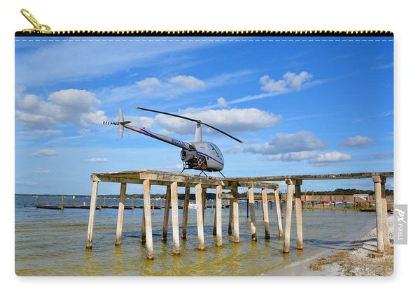R22 On A Dock Carry-all Pouch