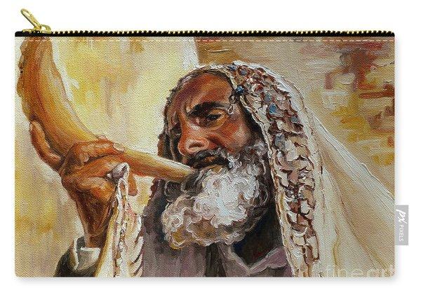 Rabbi Blowing Shofar Carry-all Pouch
