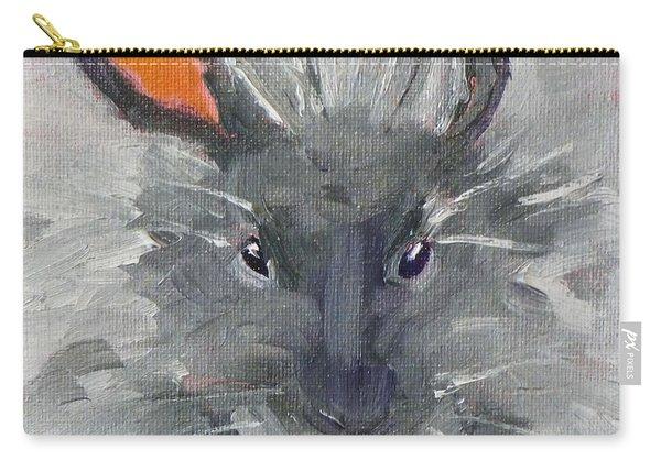 Rabbit Fluff Carry-all Pouch