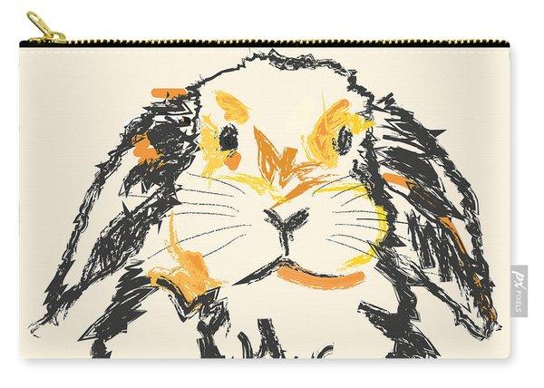 Rabbit Jon Carry-all Pouch