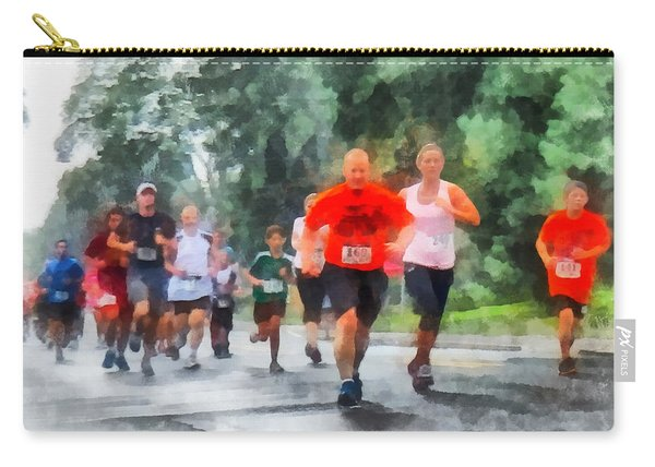 Racing In The Rain Carry-all Pouch
