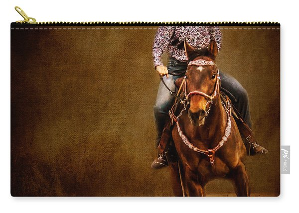 Racing To Win Carry-all Pouch