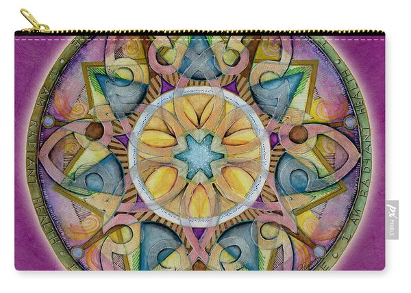 Radiant Health Mandala Carry-all Pouch