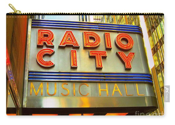 Radio City Music Hall Carry-all Pouch