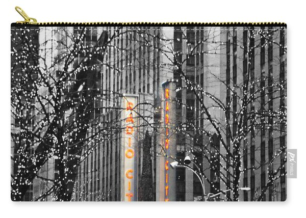Radio City Music Hall Lights Carry-all Pouch