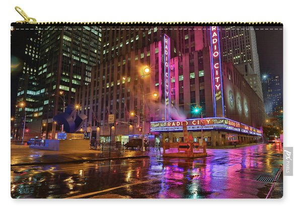 Radio City Music Hall N.y.c. Carry-all Pouch