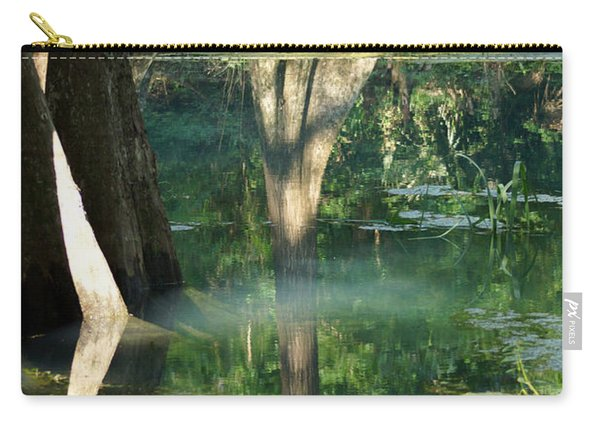 Radium Springs Creek In The Summertime Carry-all Pouch