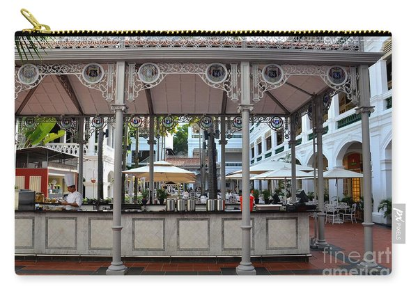 Raffles Hotel Courtyard Bar And Restaurant Singapore Carry-all Pouch