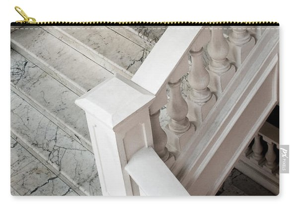 Raffle's Hotel Marble Staircase Carry-all Pouch