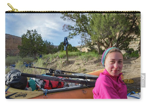 Rafting The Yampa Carry-all Pouch