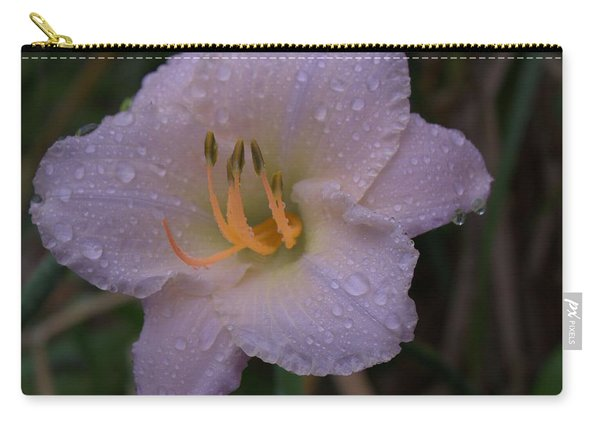 Rain Daylilly 2 Carry-all Pouch