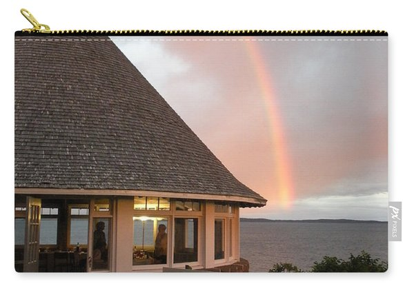 Rainbow At The Bath House Minister Island Nb Carry-all Pouch