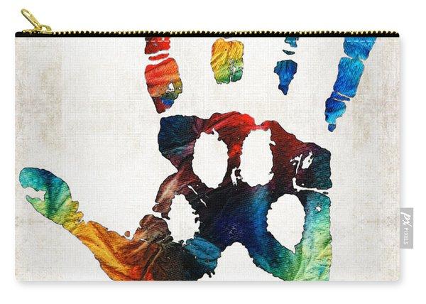 Rainbow Bridge Art - Never Forgotten - By Sharon Cummings Carry-all Pouch