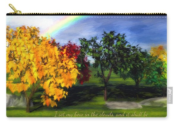 Rainbow Covenant Genesis Carry-all Pouch