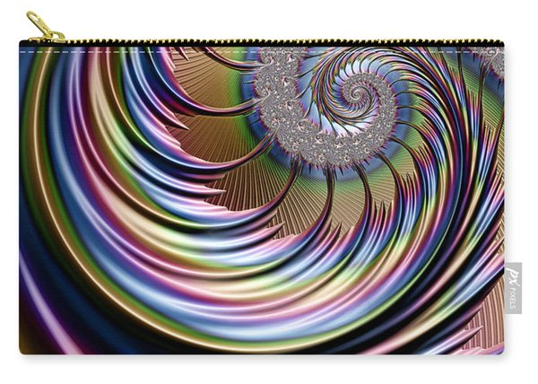 Rainbow Fronds Carry-all Pouch