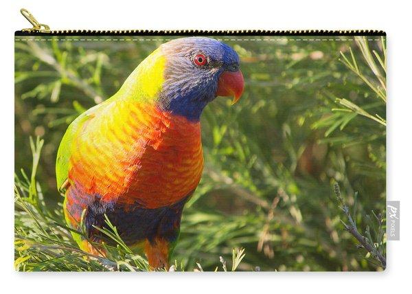 Rainbow Lorikeet Carry-all Pouch