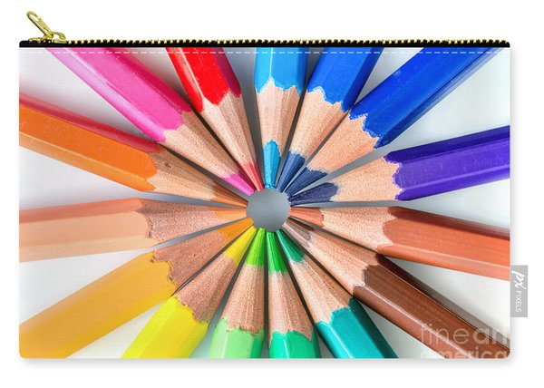Rainbow Pencils Carry-all Pouch