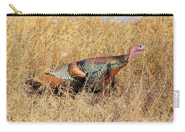Rainbow Turkey Carry-all Pouch