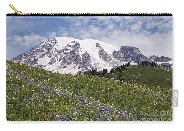 Rainier's Wildflowers Carry-all Pouch