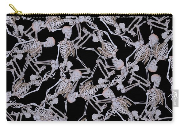 Raining Skeletons Carry-all Pouch