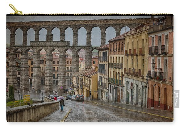 Rainy Afternoon In Segovia Carry-all Pouch