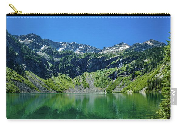 Rainy Lake In North Cascades National Carry-all Pouch