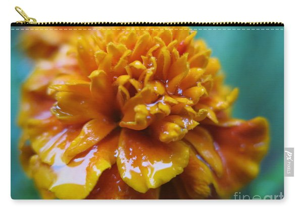 Rainy Marigolds Carry-all Pouch