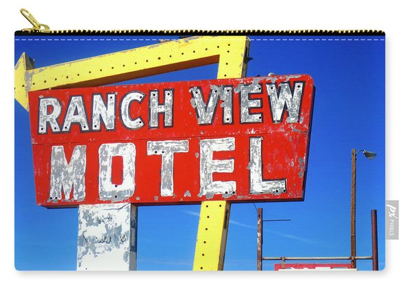 Ranch View Motel Carry-all Pouch