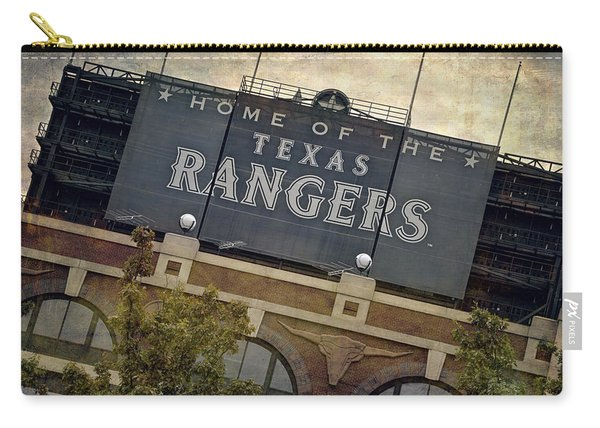 Rangers Ballpark In Arlington Color Carry-all Pouch