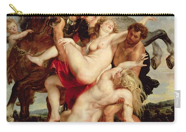 Rape Of The Daughters Of Leucippus Carry-all Pouch