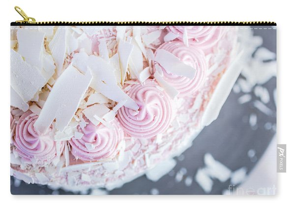 Raspberry White Chocolate Cake Carry-all Pouch