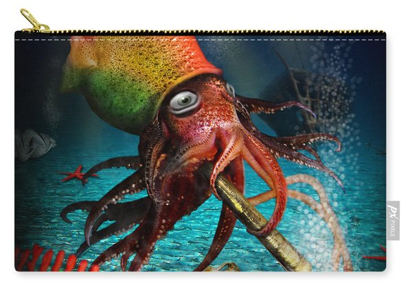 Rasta Squid Carry-all Pouch