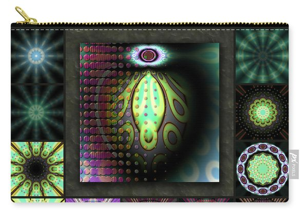 Ravaged Visions Redux Carry-all Pouch