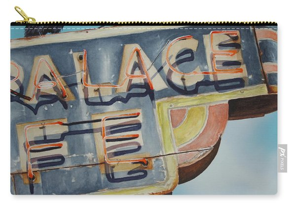 Raven And Palace Carry-all Pouch