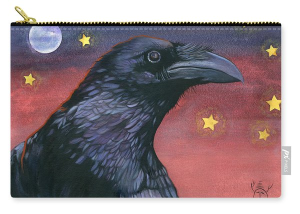 Raven Steals The Moon - Moon What Moon? Carry-all Pouch