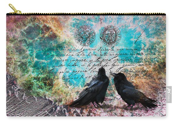 Crow Whispers In The Nowhere Carry-all Pouch