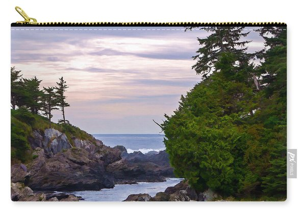 Reaching Out To The Ocean Carry-all Pouch