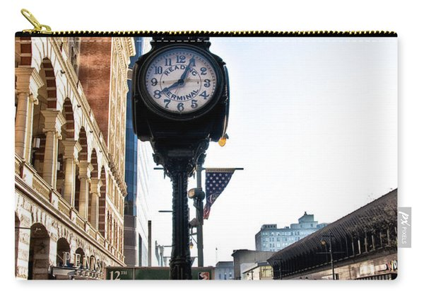 Reading Terminal Clock - Market Street Carry-all Pouch
